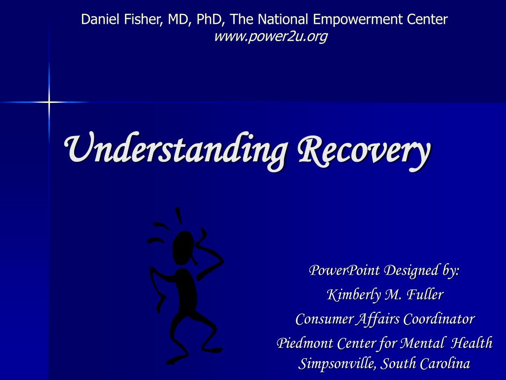 Daniel Fisher, MD, PhD, The National Empowerment Center