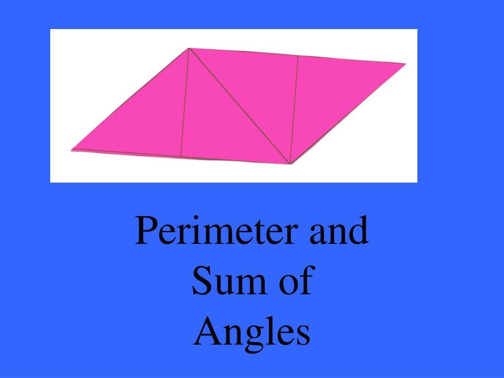 Perimeter and