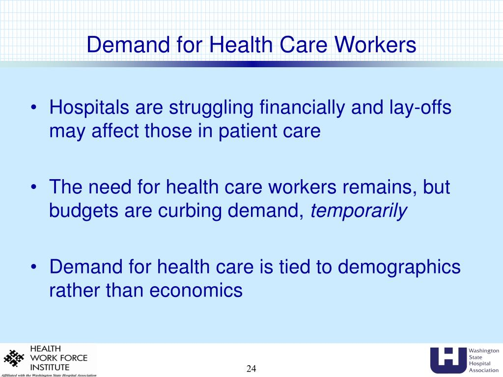 Demand for Health Care Workers
