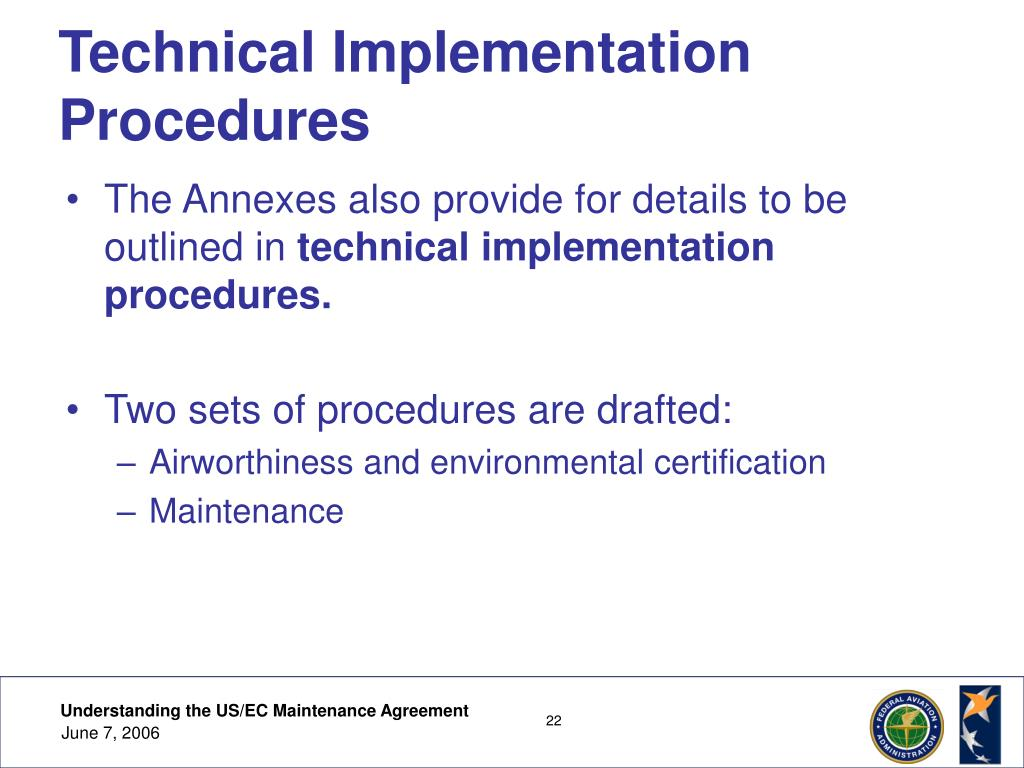 Technical Implementation Procedures