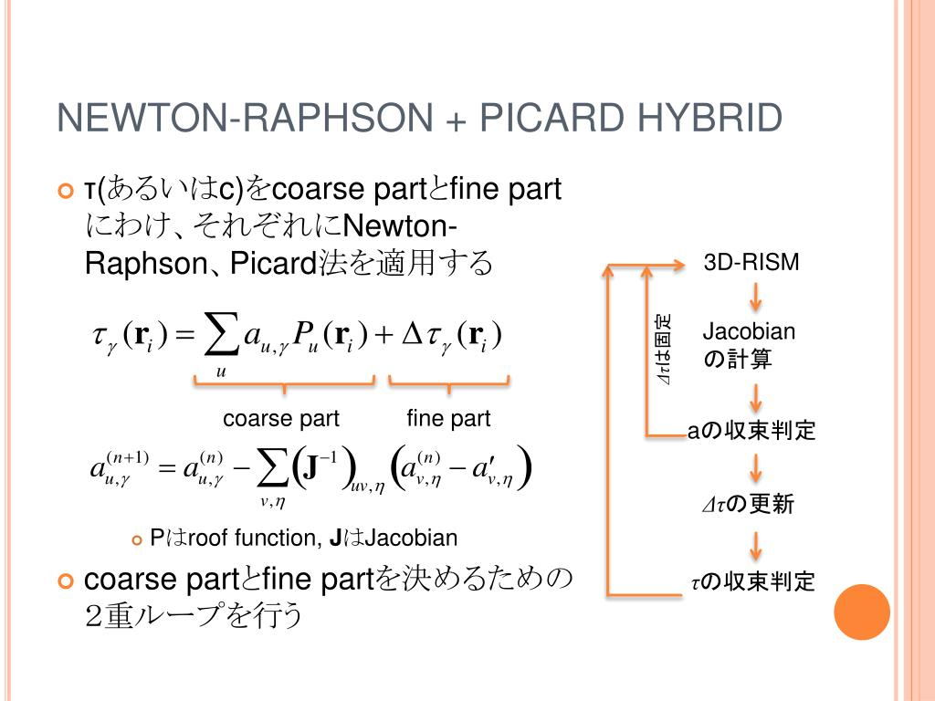 NEWTON-RAPHSON + PICARD HYBRID