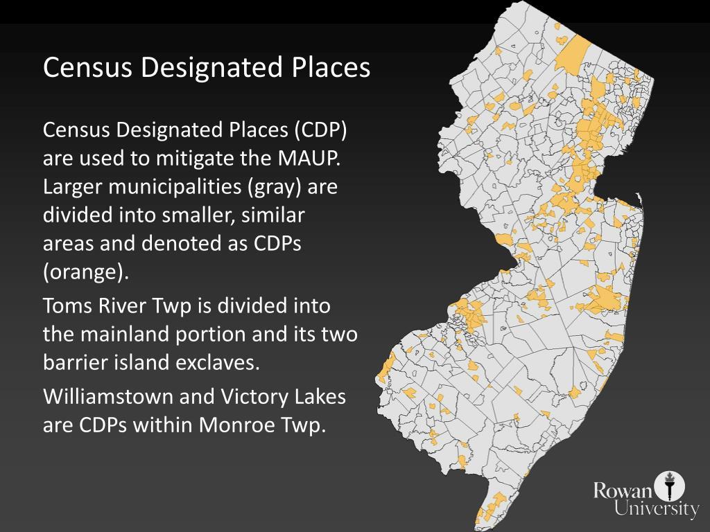 Census Designated Places