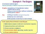 example 4 the enigma