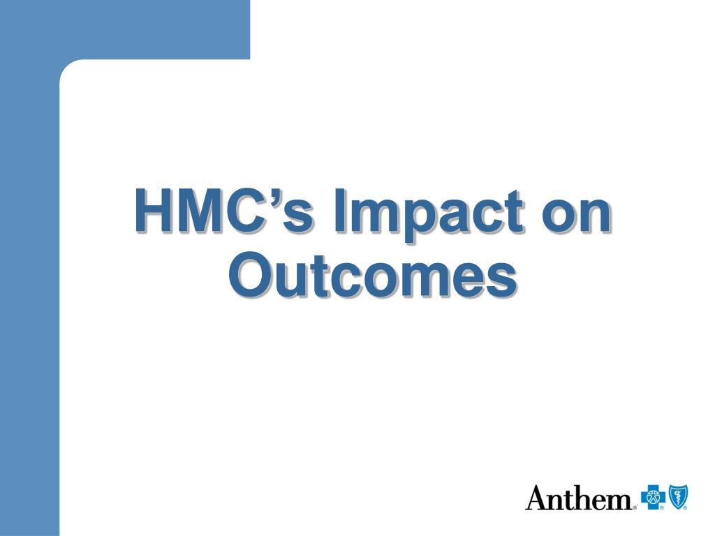 HMC's Impact on Outcomes