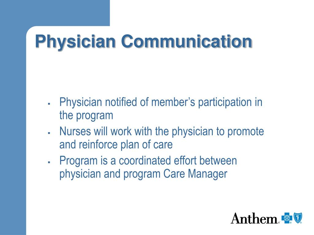 Physician Communication