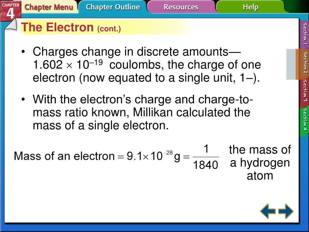 the mass of a hydrogen atom