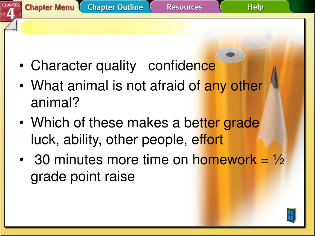 Character quality   confidence