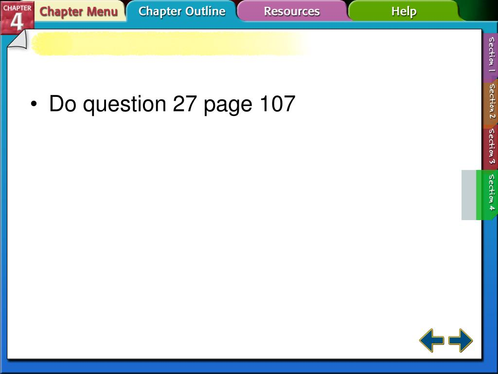 Do question 27 page 107