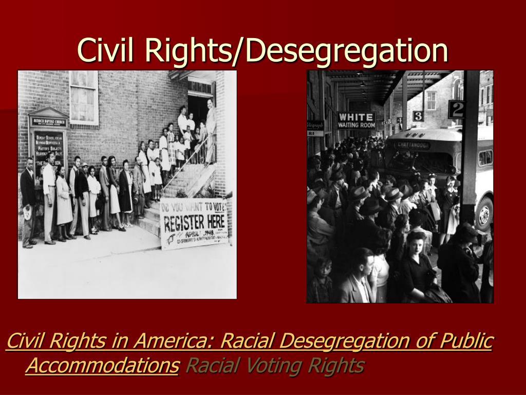 Civil Rights/Desegregation