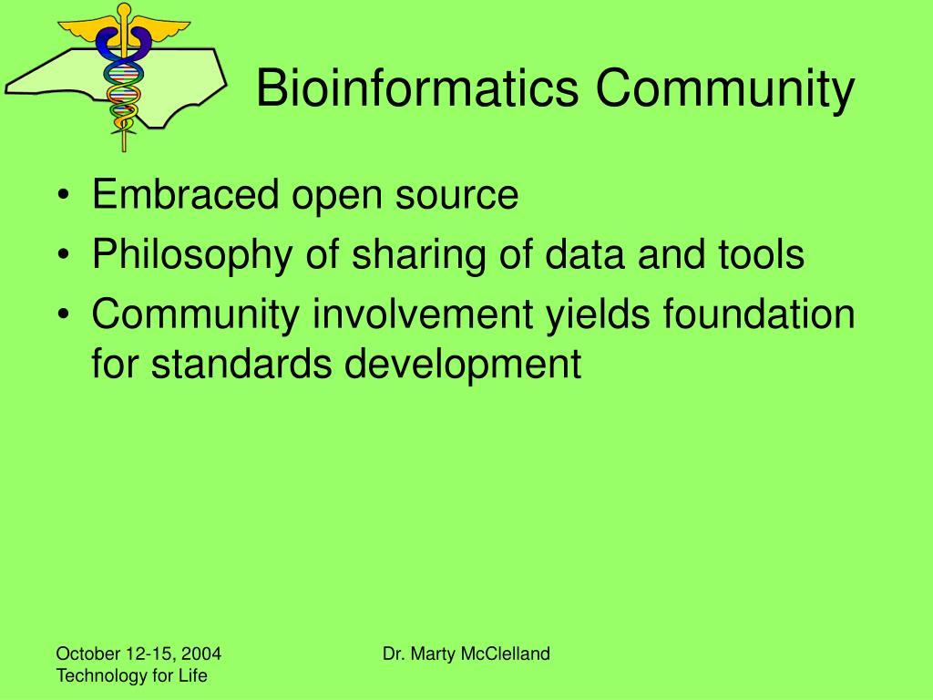 Bioinformatics Community