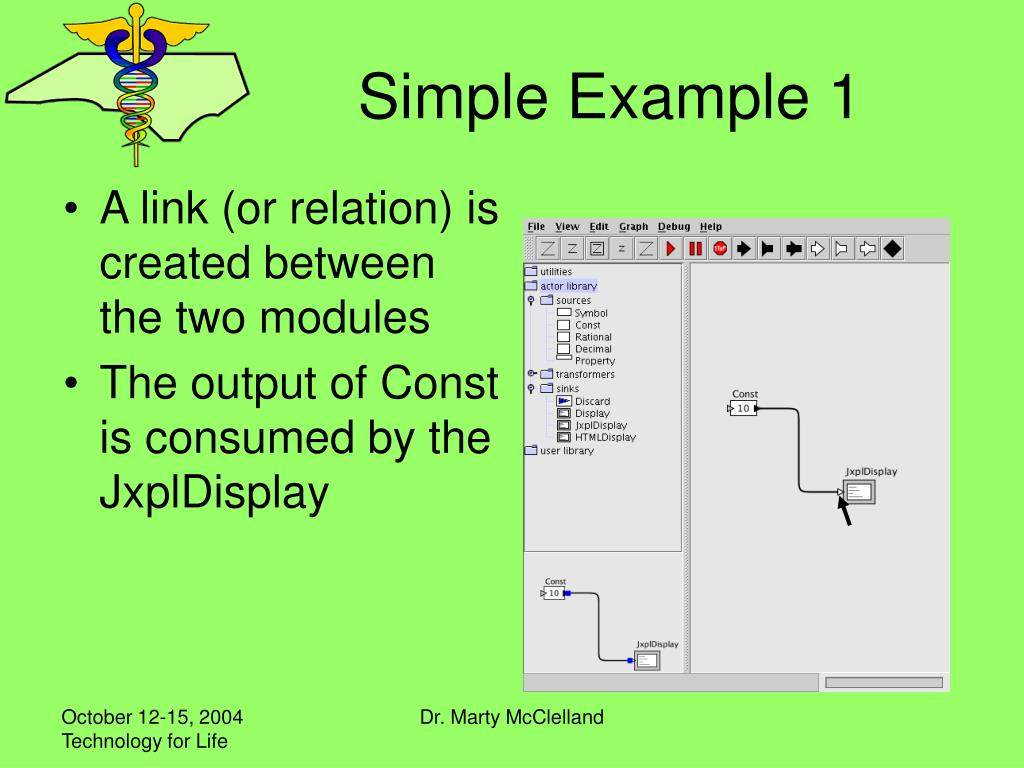 Simple Example 1