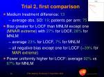 trial 2 first comparison