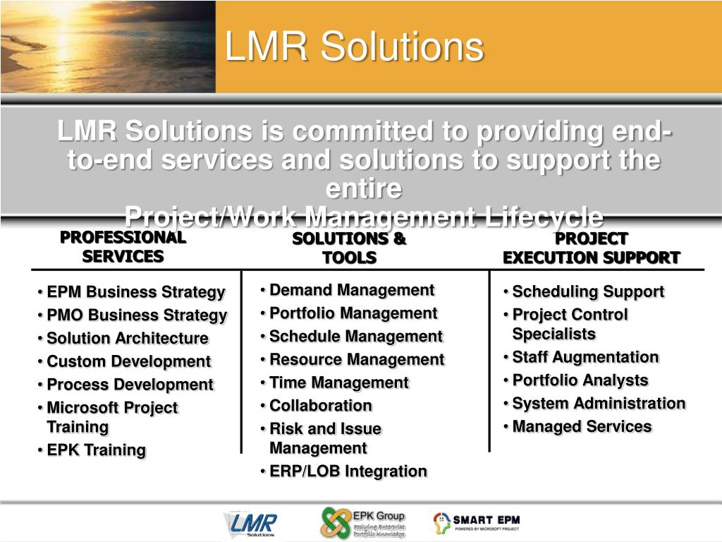 LMR Solutions