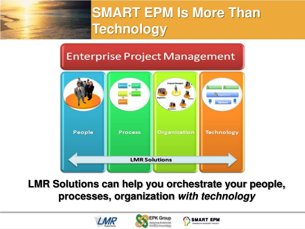 SMART EPM Is More Than Technology