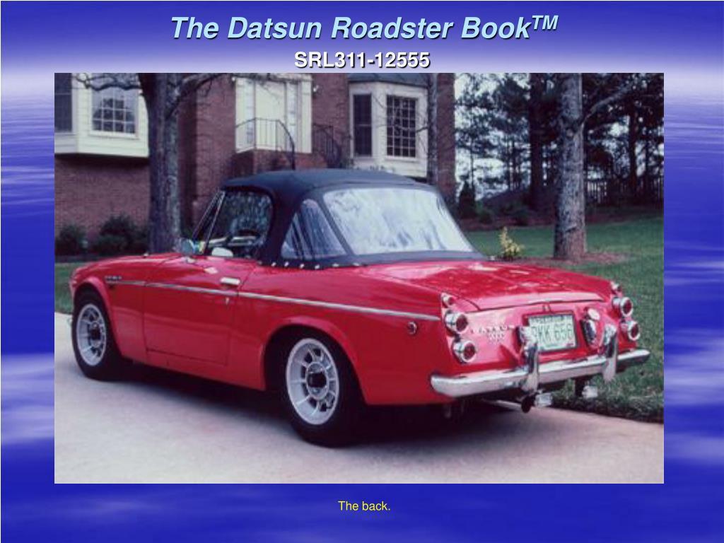 The Datsun Roadster Book