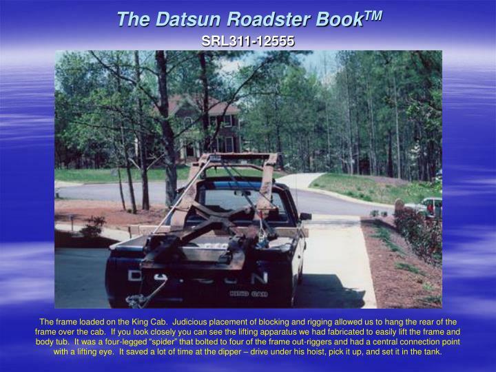 The datsun roadster book tm3