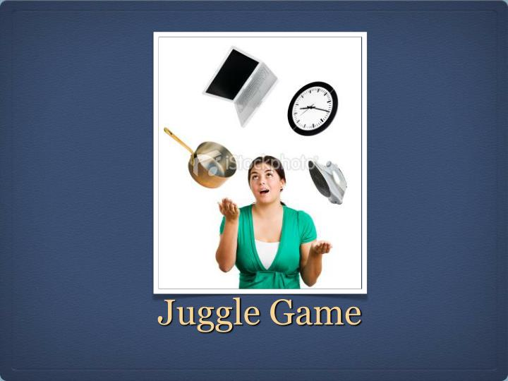 Juggle game