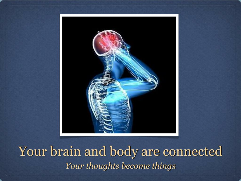 Your brain and body are connected