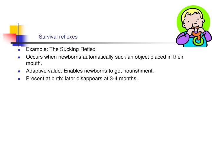 Survival reflexes