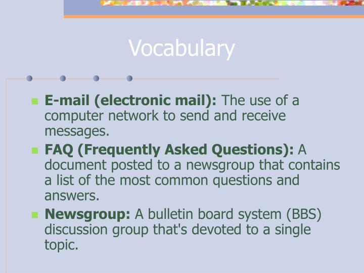 Vocabulary3