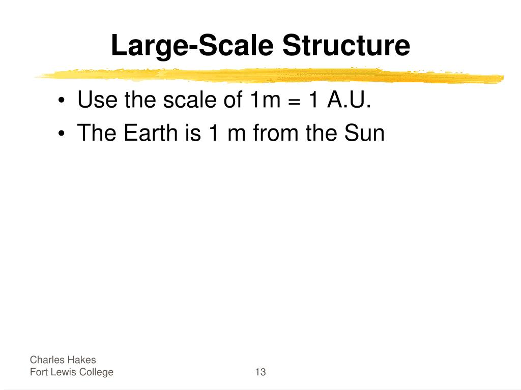Large-Scale Structure
