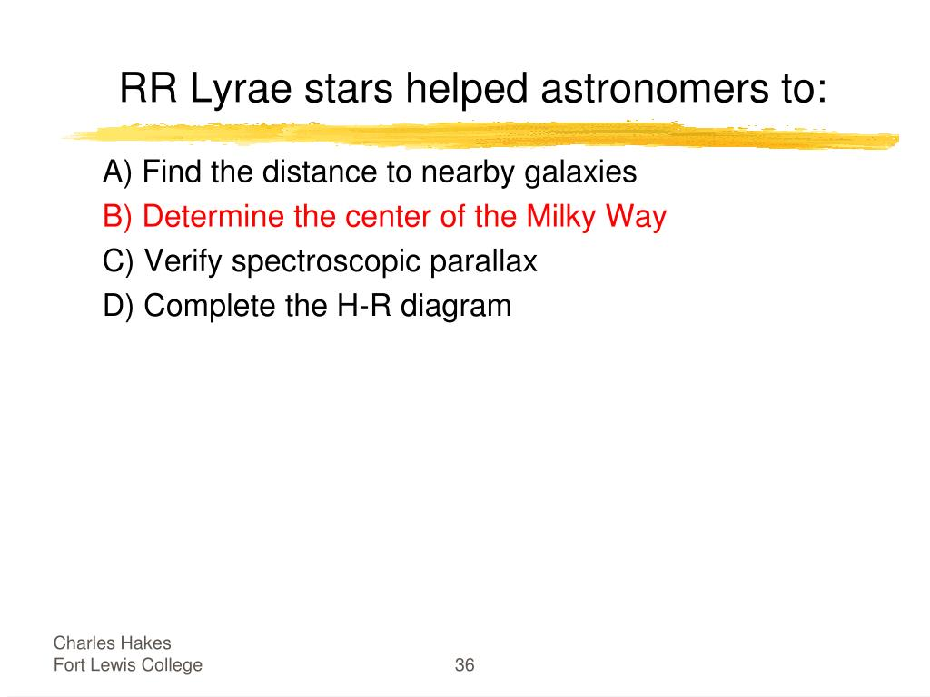 RR Lyrae stars helped astronomers to: