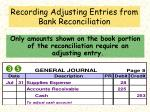 recording adjusting entries from bank reconciliation15