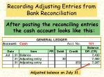 recording adjusting entries from bank reconciliation16