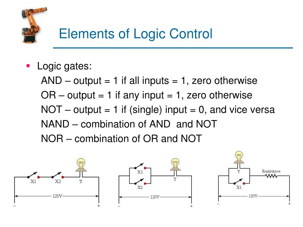 Elements of Logic Control