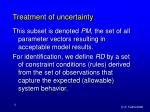 treatment of uncertainty8
