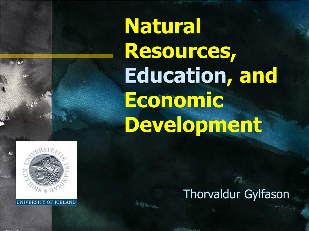 Natural Resources,