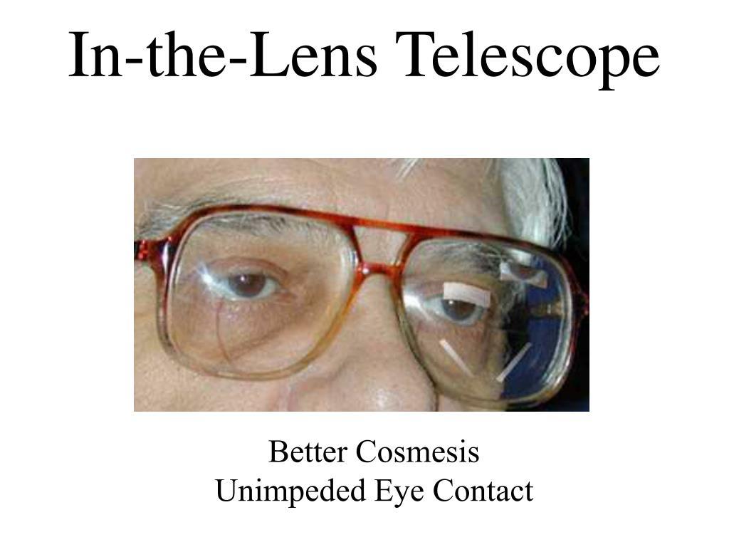 In-the-Lens Telescope