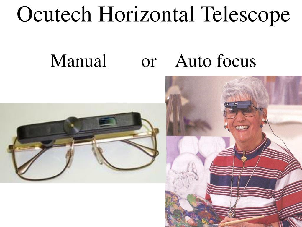 Ocutech Horizontal Telescope
