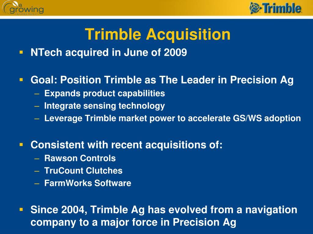 Trimble Acquisition