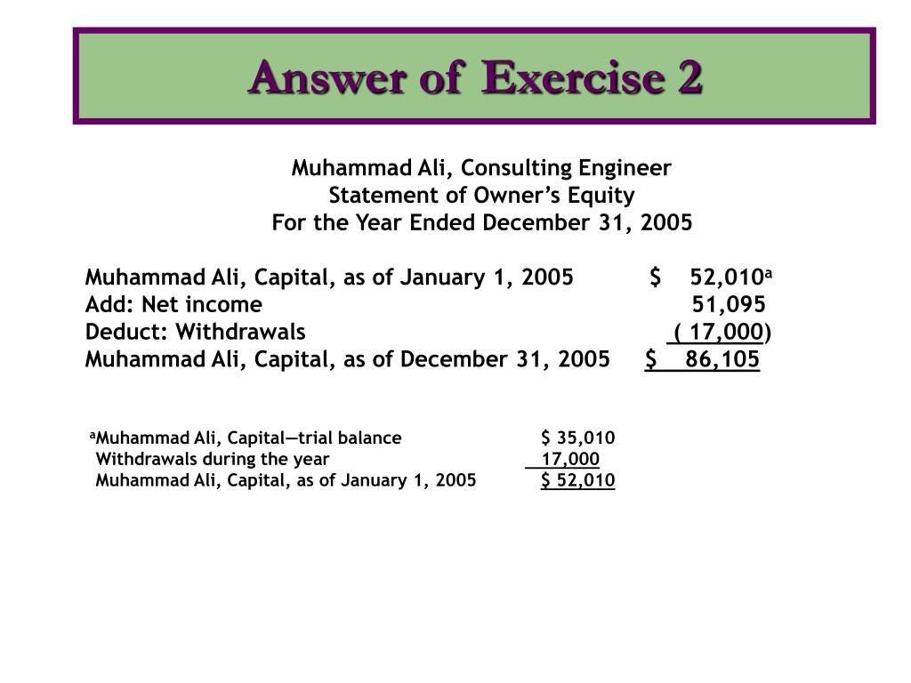 Answer of Exercise 2