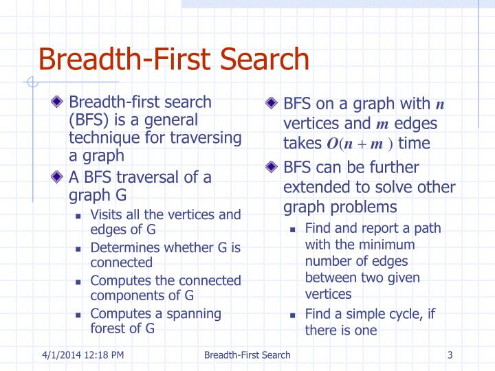 Breadth first search3