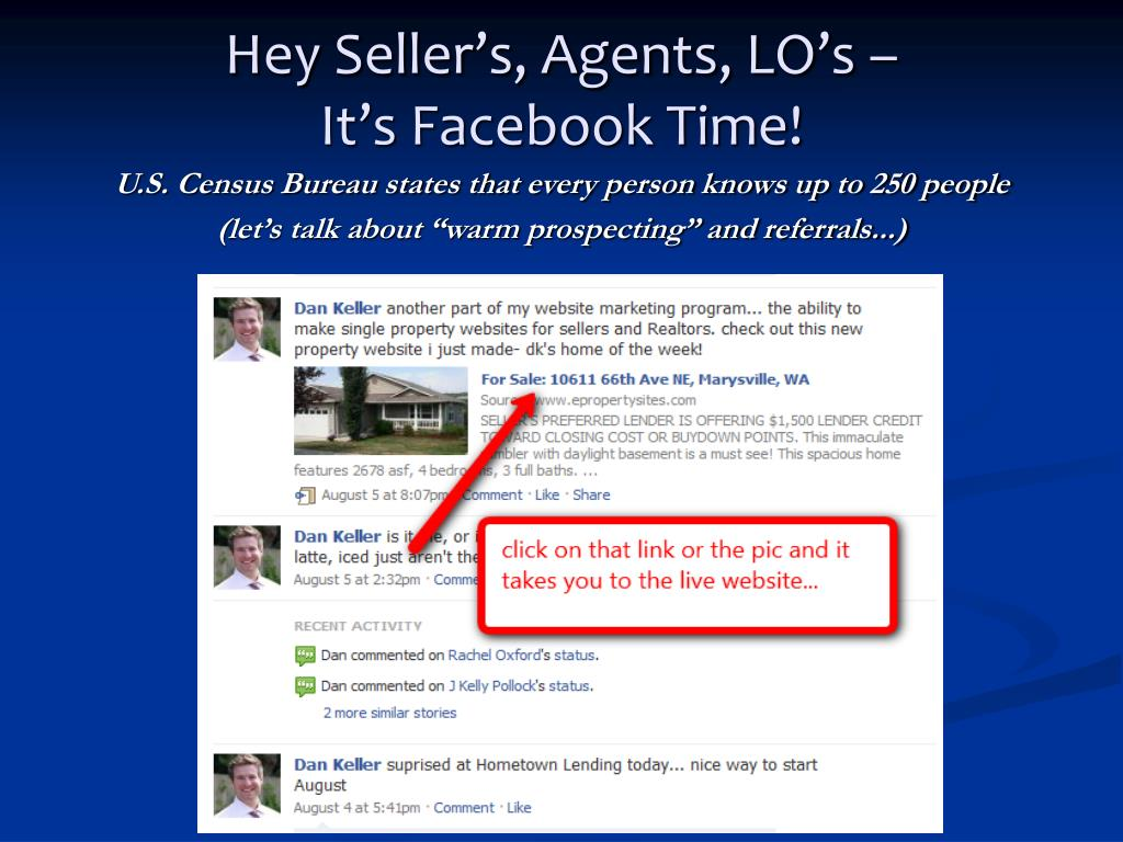 Hey Seller's, Agents, LO's –