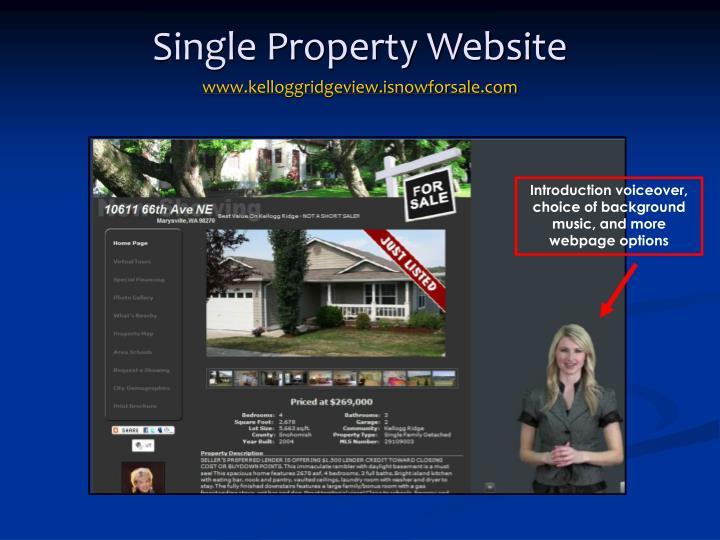 Single property website www kelloggridgeview isnowforsale com
