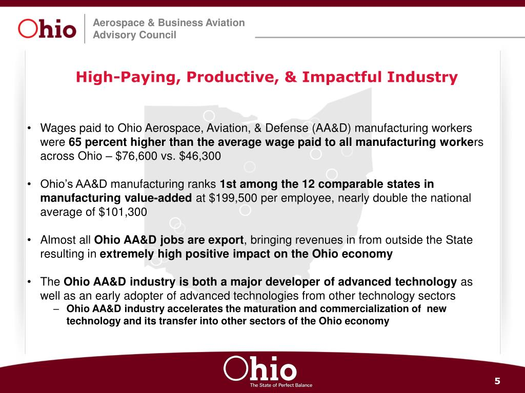 High-Paying, Productive, & Impactful Industry