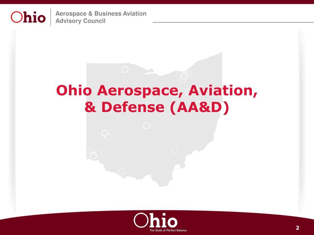 Ohio Aerospace, Aviation,