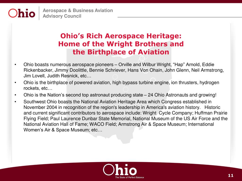 Ohio's Rich Aerospace Heritage:
