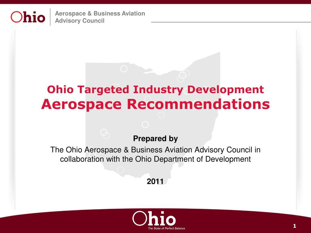 Ohio Targeted Industry Development