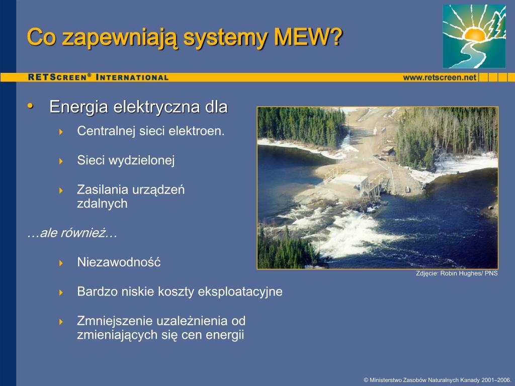 Co zapewniają systemy MEW?