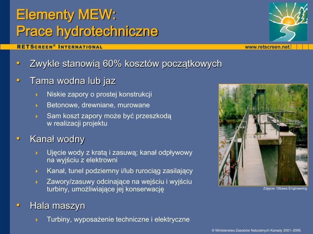 Elementy MEW: