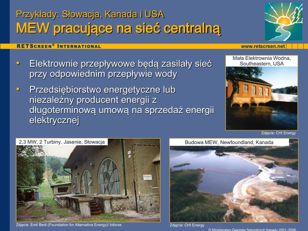 Przykłady: Słowacja, Kanada i USA