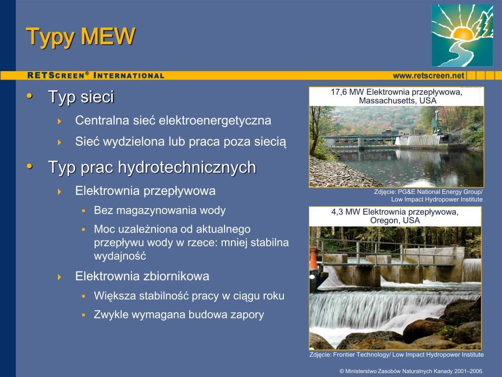 Typy MEW