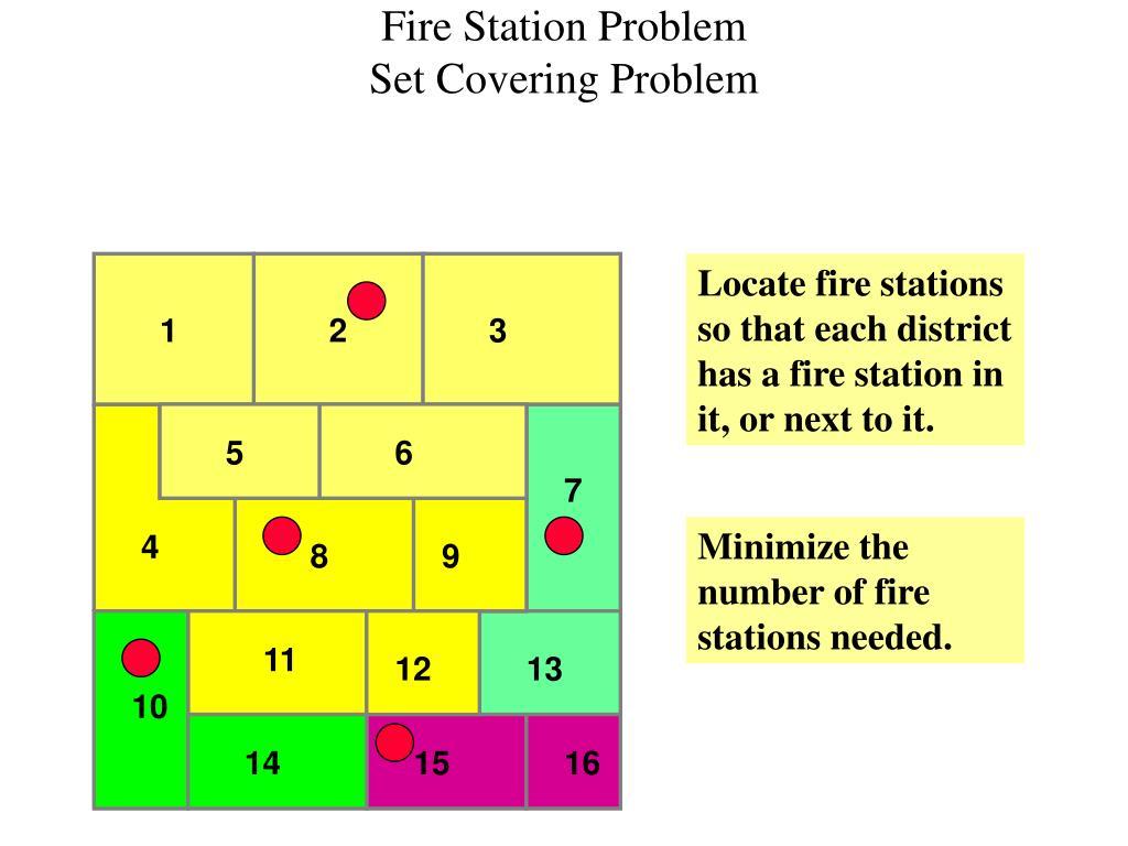 Fire Station Problem