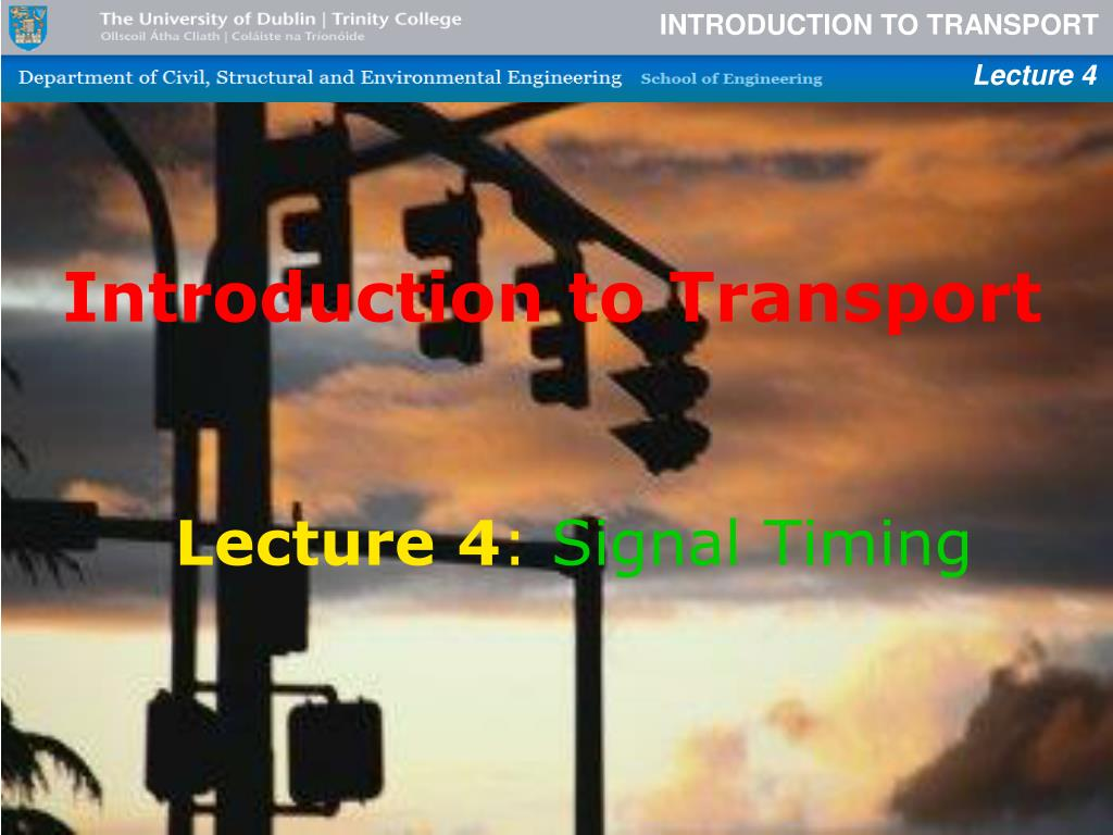 Introduction to Transport