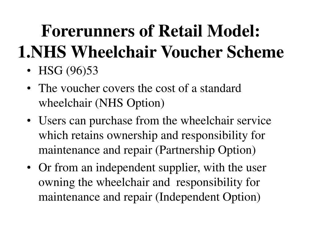 Forerunners of Retail Model:
