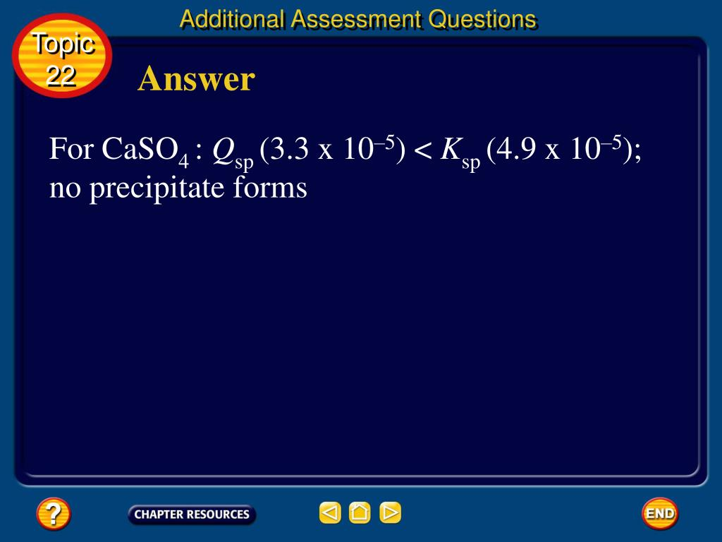 Additional Assessment Questions
